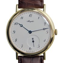 Breguet Classic 18 K Yellow Gold White Automatic 5140BA/29/9W6
