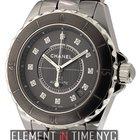 Chanel J12 Chromatic Titanium Ceramic Diamond Dial Ref. H3242