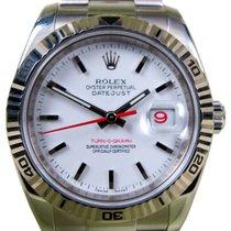 롤렉스 (Rolex) Datejust Turn-O-Graph 116264 Men's 36mm 18k...