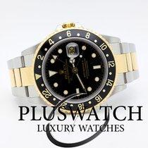 Ρολεξ (Rolex) GMT Master II 16713 Steel Gold Ser . F 2006 3140