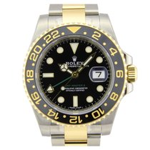 Rolex GMT-Master II Steel & Gold 1166713LN