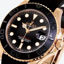 Rolex Yachtmaster 37 Mm Everose Pink Rose Gold 268655 Oysterfl...