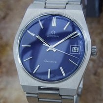 Omega Geneve Cal 613 Swiss Made Manual Stainless Steel 1970...