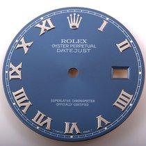 Rolex Mens Datejust - Blue Roman Numeral Dial - 16014/16234/11...