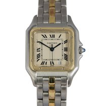 Cartier Gents Panthere in Steel & Gold (1 Row), Ref: 183949