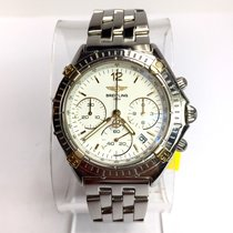 Breitling 1884 Chronograph 18k Yellow Gold & Steel...