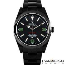 Rolex Explorer 214270 BLACK VENOM LIMITED EDITION /35 DLC PVD