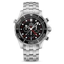 歐米茄 (Omega) Seamasater Diver 300m Co-Axial GMT Chronograph Unused