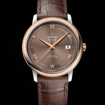 Omega De Ville Prestige Co-Axial Steel-Red Gold Brown Dial 39,5mm