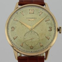 Longines Vintage Chronograph Manual Winding 18K Gold Man