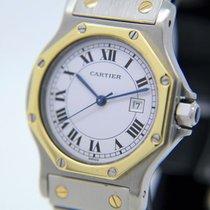 Cartier Santos Octagon – men's watch - 1990s