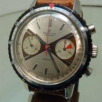 Breitling chronograph Sprint batman or zorro dial tropical...