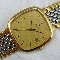 Omega De Ville Quarz - Herrenuhr - Stahl-Gold - 3961017