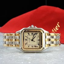 Cartier Panthère Gold-Steel / Three Rows Of Gold / Nineties