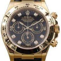 Rolex Cosmograph Daytona 116518 Men's 40mm Black Diamond...
