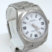 Rolex Unworn 2015 Rolex Oyster Perpetual White Dial Stainless...
