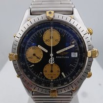 Breitling vintage chronomat ref 81.950 gold and steel blue dial