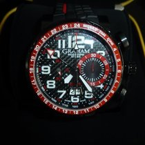 Graham Silverstone Stowe Chronograph GMT Red