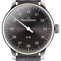 Meistersinger N 01 43mm Anthracite Dial - AM 3307