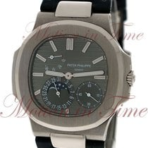 パテック・フィリップ (Patek Philippe) Nautilus Moonphase, Slate Grey...