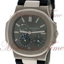 Patek Philippe Nautilus Moonphase, Slate Grey Dial - White...