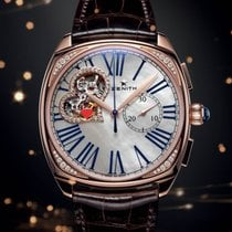 Zenith Heritage Star Open Rose Gold Diamonds