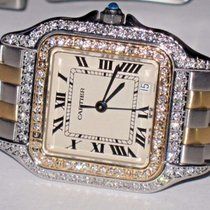 Cartier Panther 18K Gold Midsize Diamonds