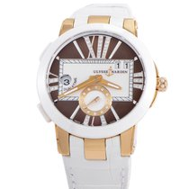Ulysse Nardin Executive Dual Time Ladies 40mm 246-10/30-05