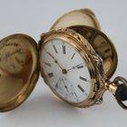 Antike Prunk Savonette Taschenuhr 14k 91gr #K2735 1A Zustand