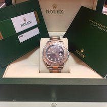 勞力士 (Rolex) New Yachtmaster Steel/Everosegold , Chocolate dial