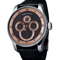 Azimuth Round-1 Calendrier Black Watch Calendar Day/date/month...