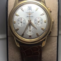 Longines Conquest yellow gold Chronograph