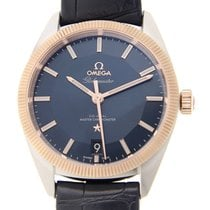 歐米茄 (Omega) Constellation 18k Rose Gold And Steel Blue...