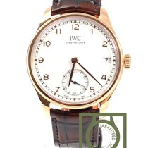 IWC Portuguese Manual Wind Eight Days Pink Gold  NEW