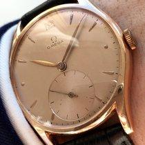 Omega Top 35mm Omega Pink Rose Rotgold Vollgold Uhr