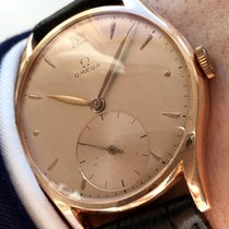 Omega Top 35mm Omega solid Pink Rose Red Gold watch vintage
