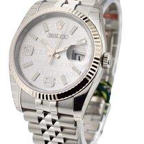 Rolex Unworn 116234_wave_silver_dd 36mm Datejust with Jubilee...
