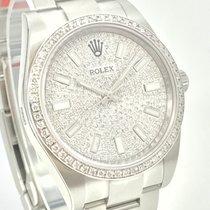 Rolex Oyster Perpetual Diamond Brillant Pave 39mm Lünette ...