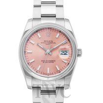 ロレックス (Rolex) Perpetual Date Rosa/Steel Ø34mm - 115200
