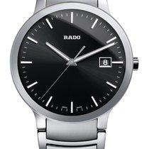 Rado Centrix Index schwarz Stahl Datum -NEU-