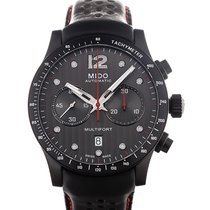 Mido Multifort 44 Chronograph Black Strap
