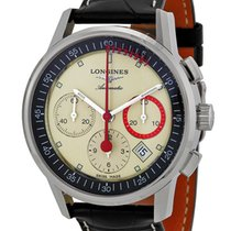Longines Heritage Column Wheel Chrono Record Automatic Mens...
