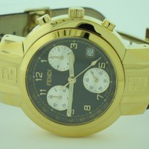 Fendi Orologi Chronograph 18K Gold