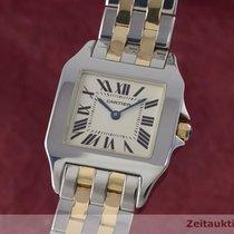 Cartier Lady Santos Demoiselle Stahl / Gold Damenuhr 2701