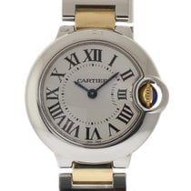 Cartier Ballon Bleu Ladies 28mm W69007Z3 Steel Gold Box/Paper...