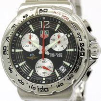 TAG Heuer Polished Tag Heuer Formula 1 Indy 500 Steel Quartz...