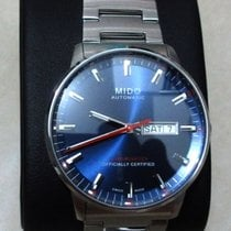 Mido Commander Gent Chronometer Blue Dial Days M0214311104100