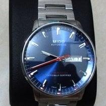 Mido Commander Gent Chronometer Blue Dial Days M0214311104100