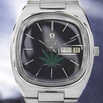 Omega Rare Mens Seamaster With Cannabis Dial 1970s Automatic...