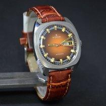 Edox Day-Date Automatic Watch